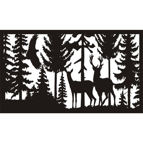 28 X 48 Eagle Doe Buck - AJD Designs Homestore