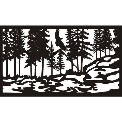 28 X 48 Eagle Stream - AJD Designs Homestore