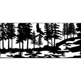 28 X 60  Eagle Stream Trees - AJD Designs Homestore