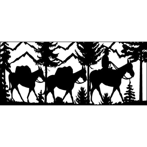28 X 60 Hunter Leading  Two Pack Mules - AJD Designs Homestore