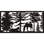 30 X 60 Two Horses Panel 4 - AJD Designs Homestore