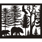 30 X 36 Two Bears Eagle - AJD Designs Homestore
