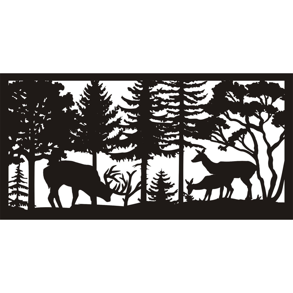 30 X 60 Buck Rub Doe Fawn - AJD Designs Homestore