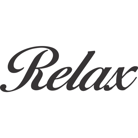 Inspirational Wall Art Relax