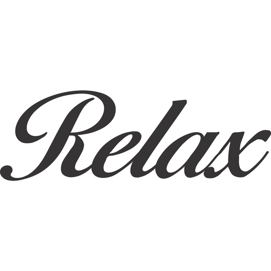 Metal Wall Decor - Relax