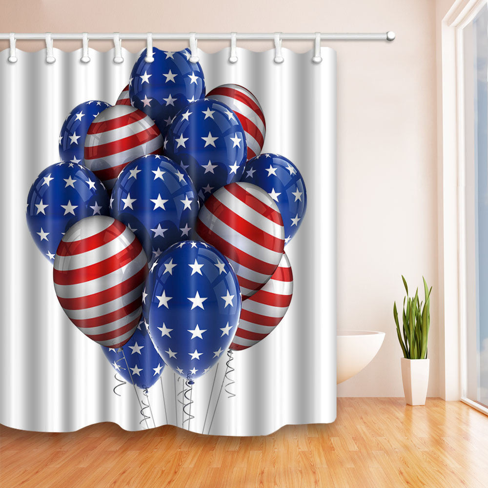 American Patriotic shower curtains (multiple designs) | The Dog ...