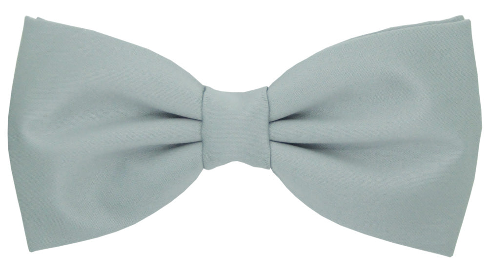 Pearl Silver Bow Tie