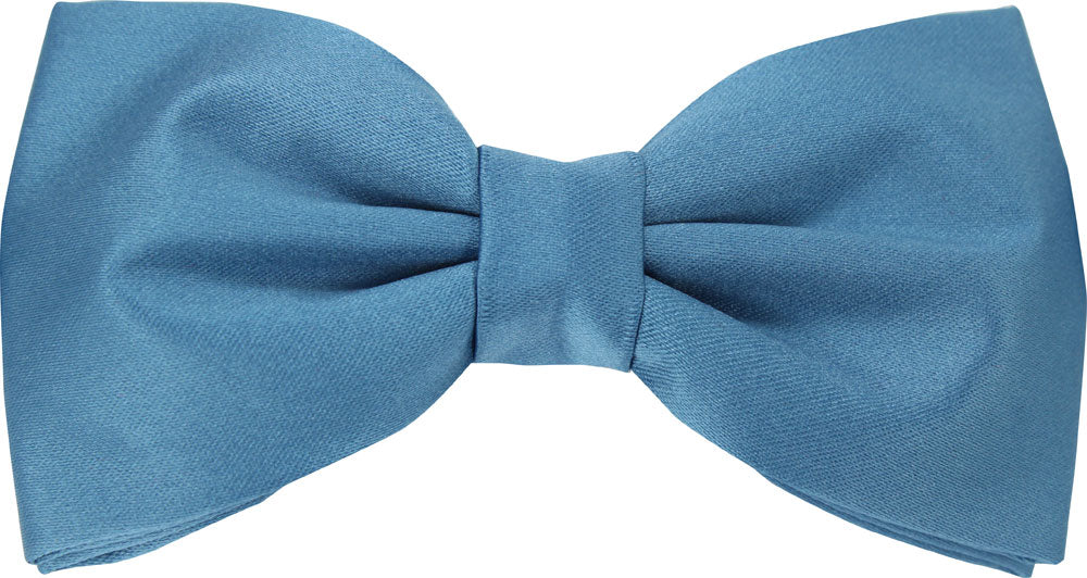 Rich Duck Egg Blue Bow Tie