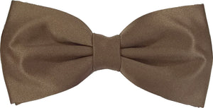 Mid Brown Bow Tie