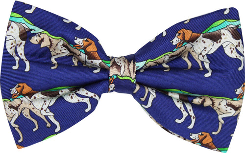 Pointer Dogs Novelty Bow Tie