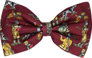 Shooting Novelty Bow Tie