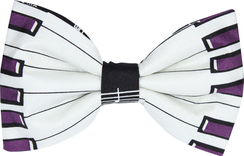 Piano Keys Novelty Bow Tie