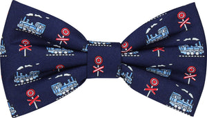 Train Crossings Novelty Bow Tie