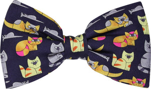 Cats and Mice Novelty Bow Tie