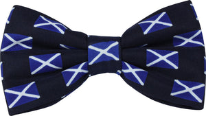 Scotland Saltire Novelty Bow Tie