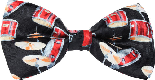 Drums Novelty Bow Tie