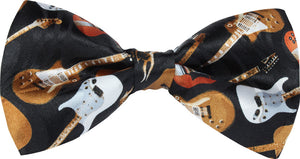Electric Guitars Novelty Bow Tie
