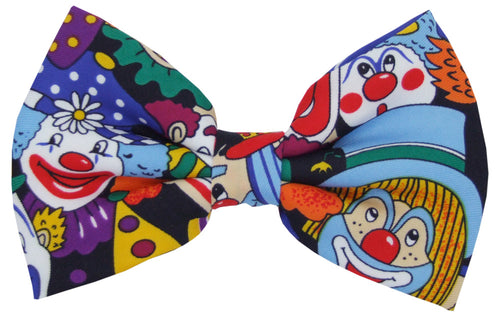 Clown Face Novelty Bow Tie