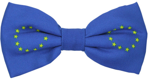 EU Flag Novelty Bow Tie