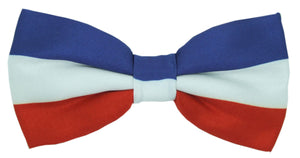Tri-Colour Novelty Bow Tie