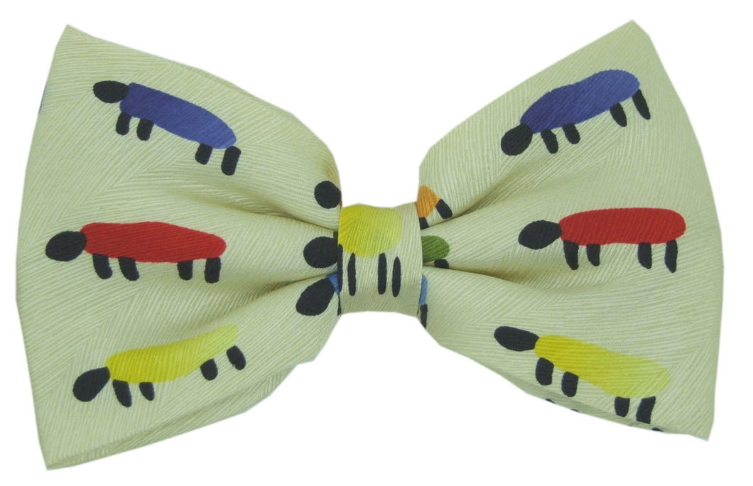 Painted Sheep Novelty Bow Tie