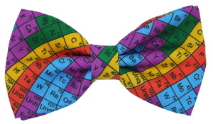Periodic Table Colourful Novelty Bow Tie