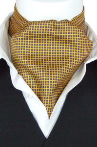 Fanucci on Yellow Fine Silk Cravat