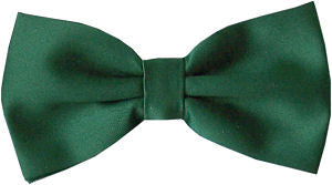 Bottle Green Bow Tie