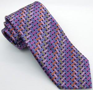 Purple Knots Tie