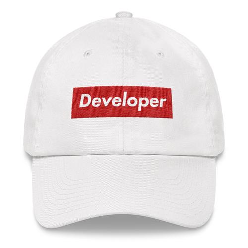 Supreme Developer Dad Hat