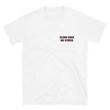 No Stress White Tee
