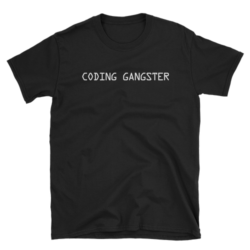 Coding Gangster Tee