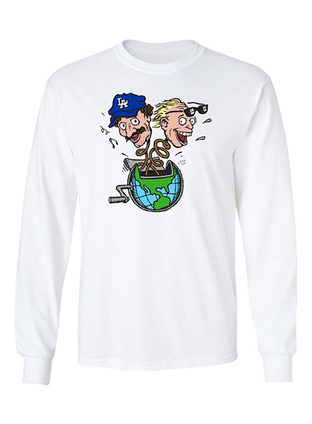 Planet Bob & Tom Long Sleeve T-Shirt