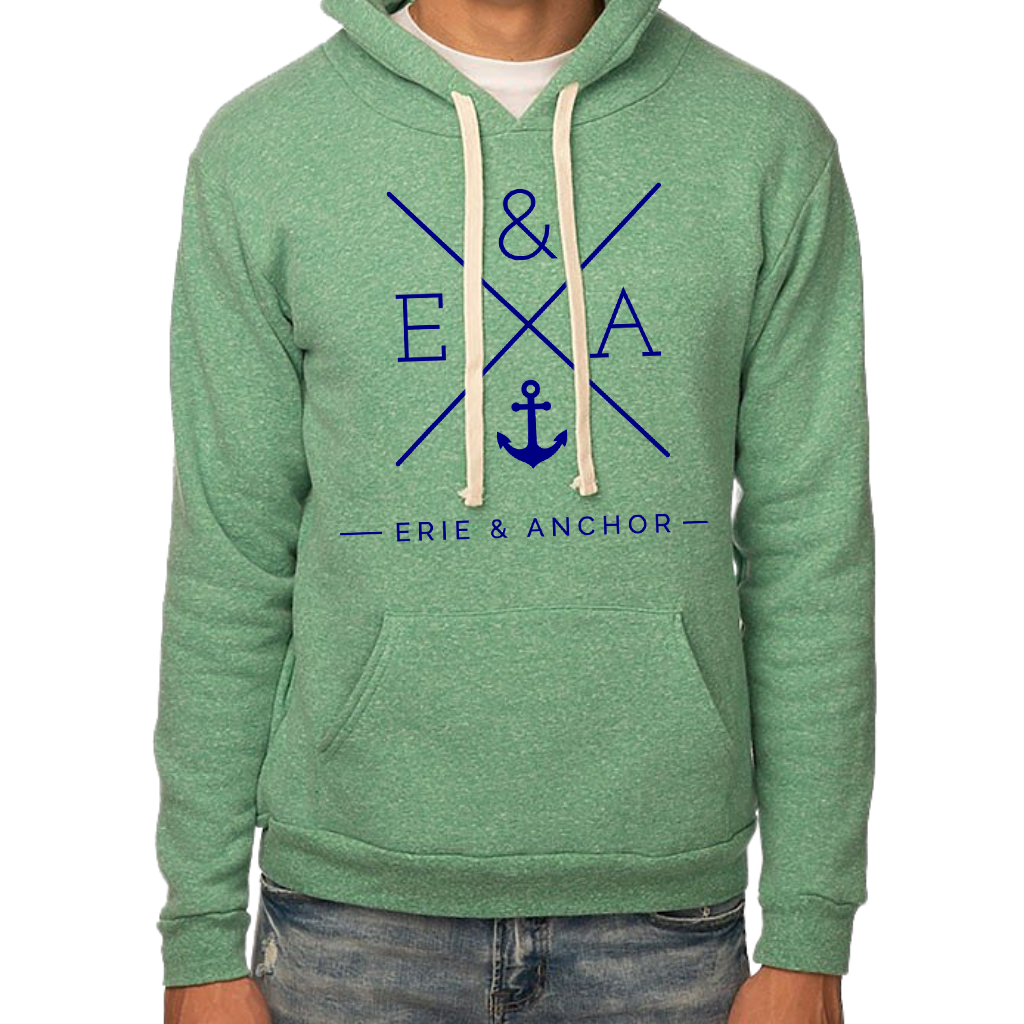 Crosswinds Hoodie-Kelly Green