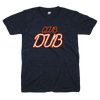 Alex Brown and Lance Briggs wearing Club Dub shirts