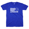 1060 W. Addison St shirt | North Side Chicago tee | Bandwagon Champs