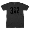 312 Chicago black out shirt | 3one2 Chicago black on black tshirt | Bandwagon Champs