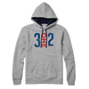 3 One 2 Chicago Stars Lightweight Hoodie