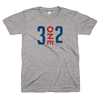 3on2 Chicago tee | 312 Chicago clothing | Bandwagon Champs