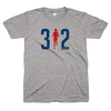 312 Chicago Marathon women's shirt Bandwagon Champs