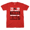 72-10 don't mean a thing without the ring tshirt | Bandwagon Champs