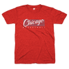 Blue and red Chicago basketball shirt | Bandwagon Champs