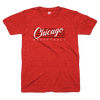 Retro Chicago Basketball red and black t shirt | Bandwagon Champs