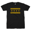 Chicago Flag Black and Gold