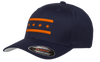 Chicago Flag hat navy blue and orange Bandwagon Champs