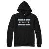 Chicago Flag lightweight hoodie black and gray | Bandwagon Champs