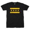 Chicago Flag t-shirt black and yellow | Bandwagon Champs
