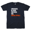 Chicago football blue and orange shirt | Bandwagon Champs