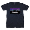 Chicago Night blue shirt | Bandwagon Champs