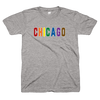 Chicago Pride t shirt | Rainbow Flag | Bandwagon Champs